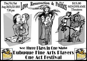 One Act Festival Doug Art